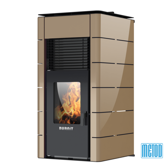 PELLET STOVE WITH WATER JACKET BURNiT CONCEPT 25