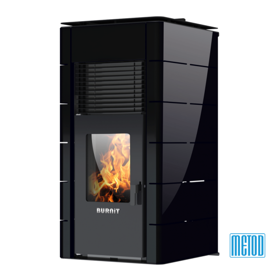 PELLET STOVE WITH WATER JACKET BURNiT CONCEPT 18