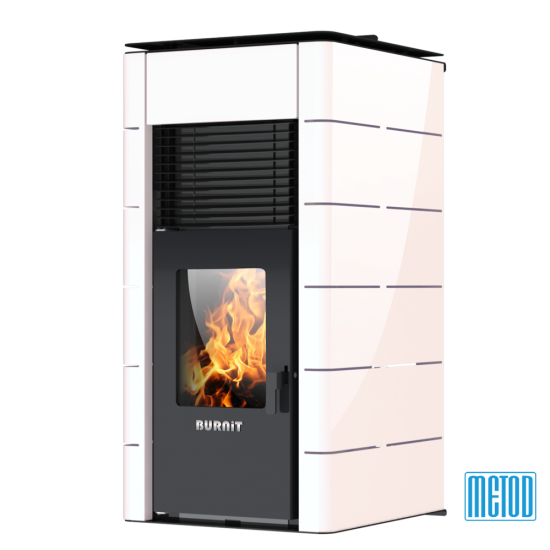 PELLET STOVE WITH WATER JACKET BURNiT CONCEPT 13