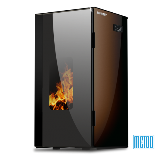 PELLET STOVE WITH WATER JACKET BURNiT VISION 13